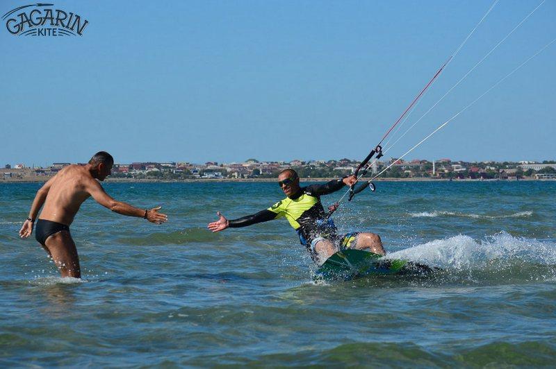 Кайтсерфинг в Крыму, Межводное фото
