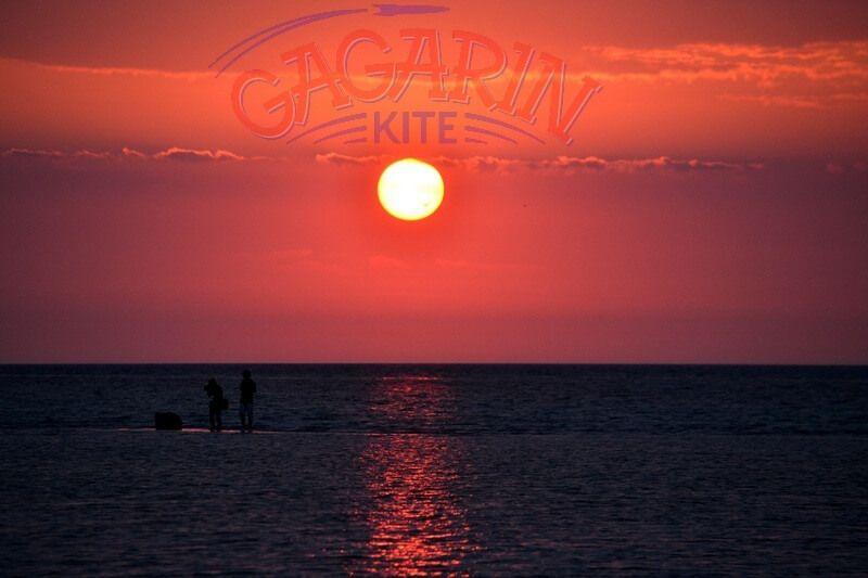 Закаты западного крыма в Межводном на кайт станции gagarinkite фото