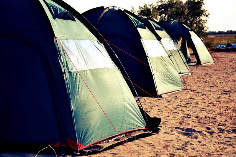 проживание в Палатке на кайт споте межводное крым фото