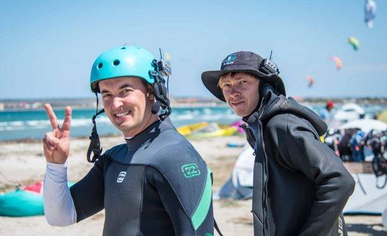 Кайтсерфинг в Крыму в октябре