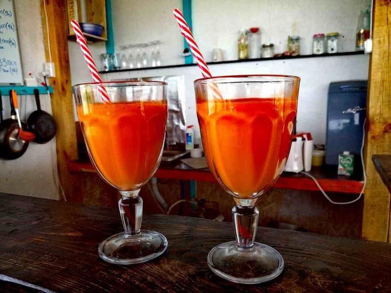 Свеже выжатые соки в Межводном фото