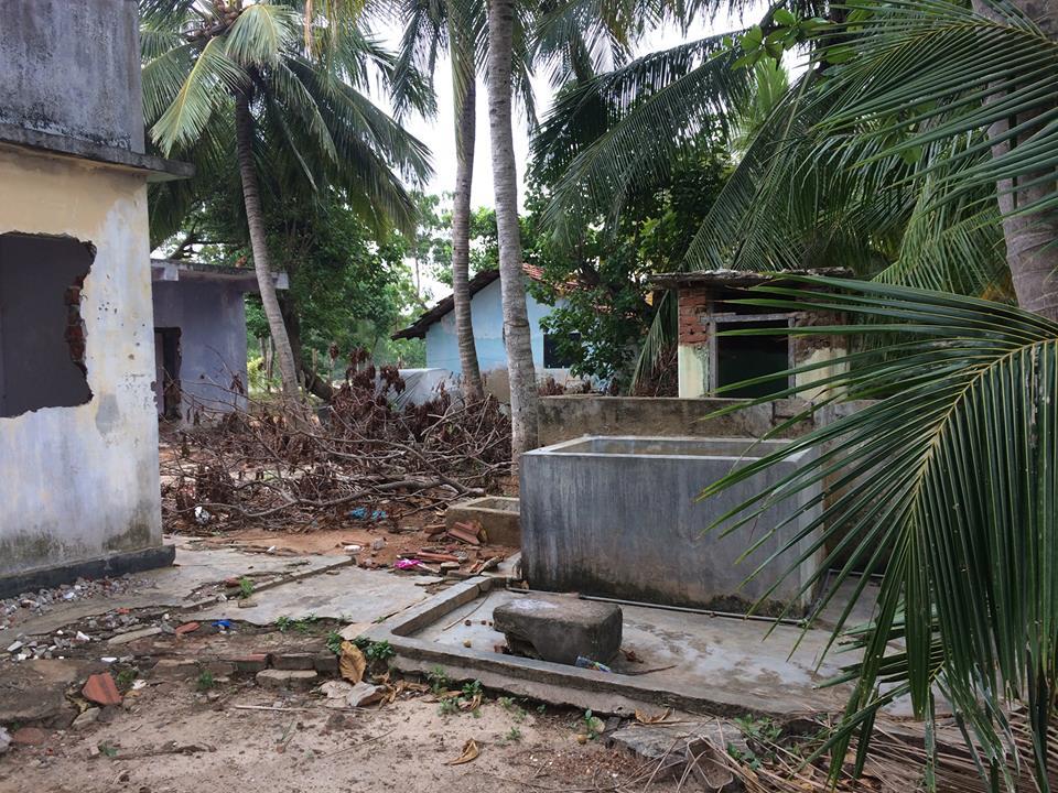 Не востановленные дома после цунами фото