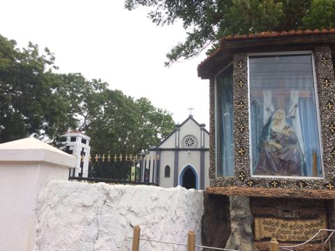 Котолический собор на цейлоне, Хамбантота фото