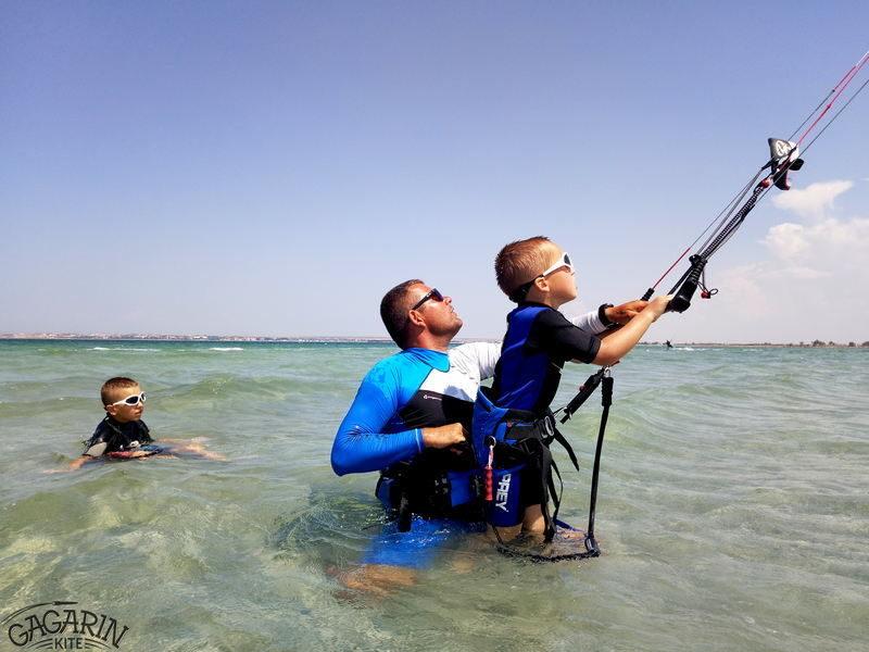 Кайт обучение деток Крым Межводное фото