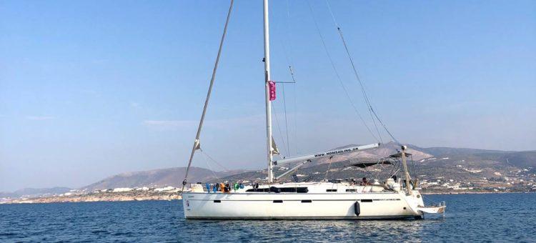 Кайт сафари на парусной яхте по островам Греции